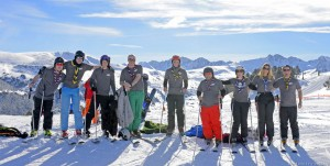 The 2015 Andorra Scout Media ski team!