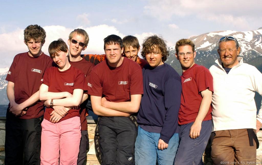 The 2006 Andorra Scout Ski Trip participants