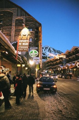 Main street, Soldeu, Andorra, Pyrenees