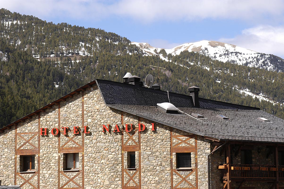 Hotel Naudi, Soldeu, Andorra, Pyrenees, Mountains